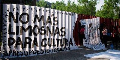 Comunidad artística pide a diputados no quitar recursos a cultura