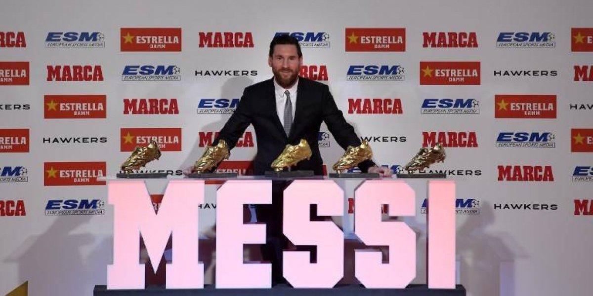 Messi recibe su último gran galardón del año, esto sintió el argentino