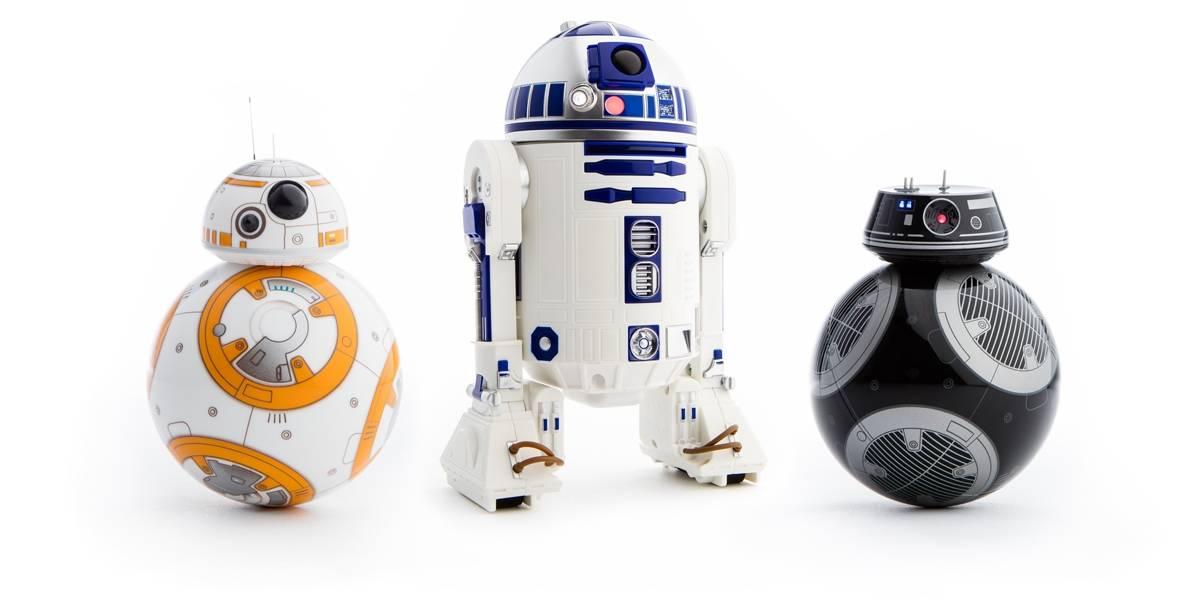Feliz Navidad: Sphero mata sus robots de BB-8, R2-D2 y todo Star Wars