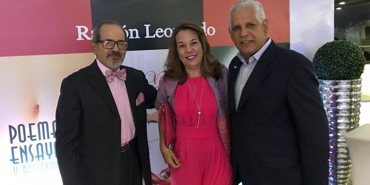 #TeVimosEn: Ramón Leonardo pone en circulación libros sobre la forma de actuar en las relaciones