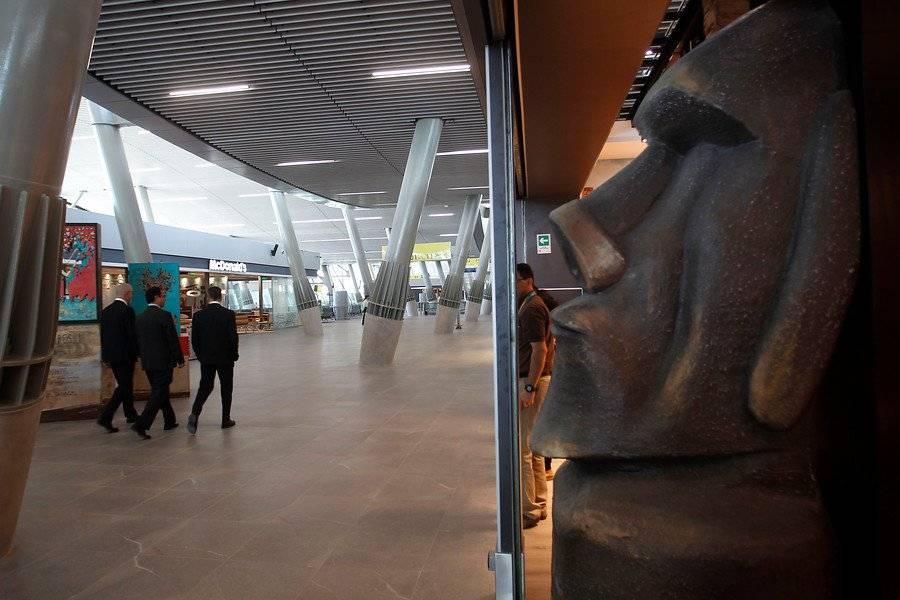 Inauguran nuevo sector del Aeropuerto con bailes de Rapa Nui / Aton Chile