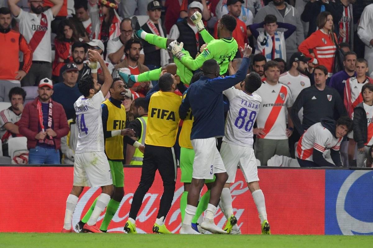 El equipo local, Al Ain, no falló en la tanda de penaltis, el héroe terminó siendo su portero. EFE