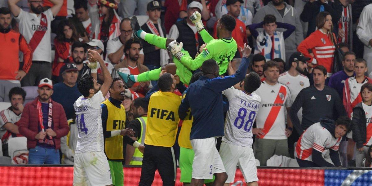 El Al Ain elimina al River Plate y avanza a la final del Mundial de Clubes