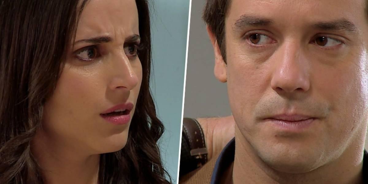 """¿La ama aún? Matías Oviedo revela lo que realmente siente Tomás por Rocío en """"Verdades Ocultas"""""""