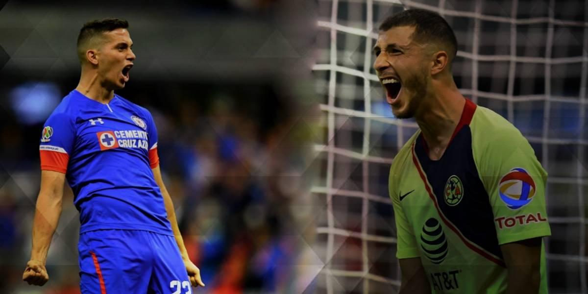 Cruz Azul y América invaden XI ideal del Apertura 2018