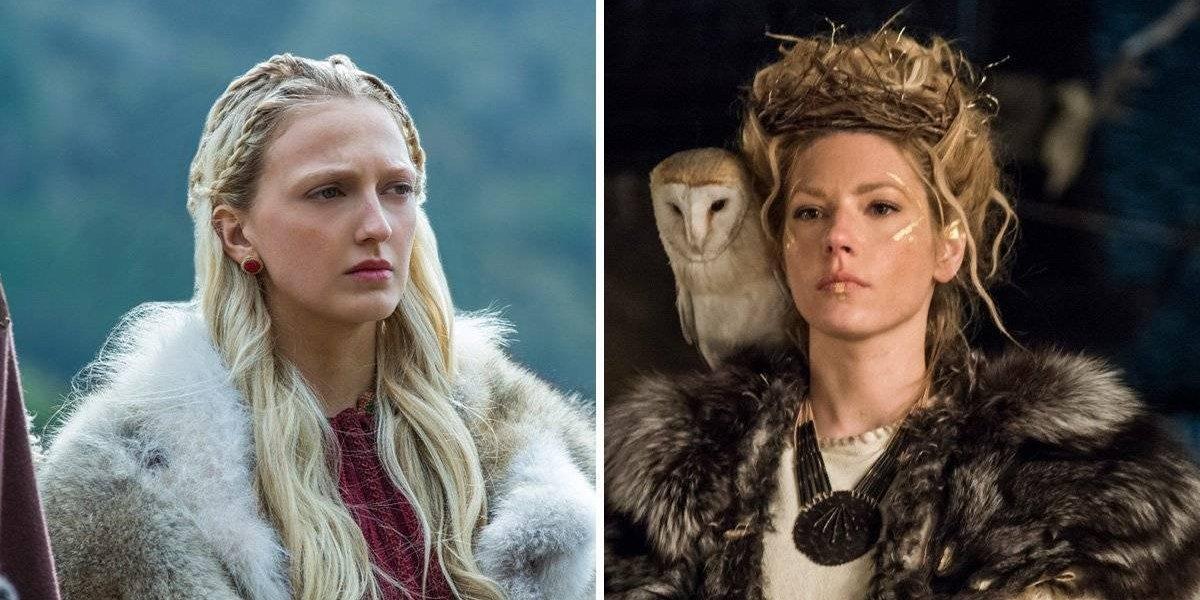 Vikings: Atriz dá pistas sobre futuro da série em mensagem de aniversário para Katheryn Winnick