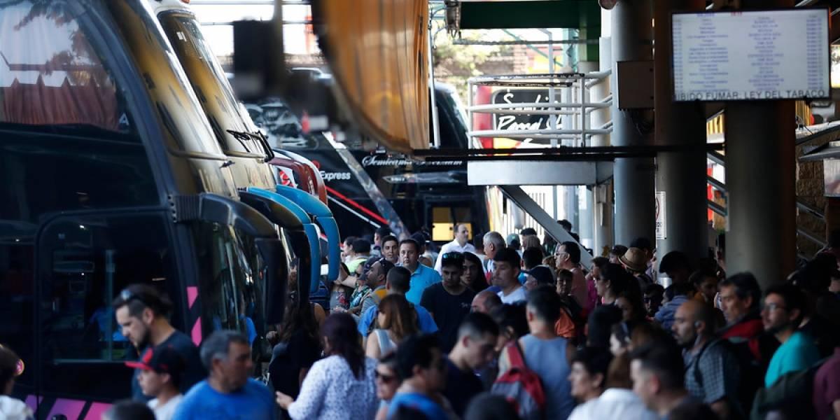 Estiman que 2 millones de personas viajen en bus para estas fiestas de fin de año