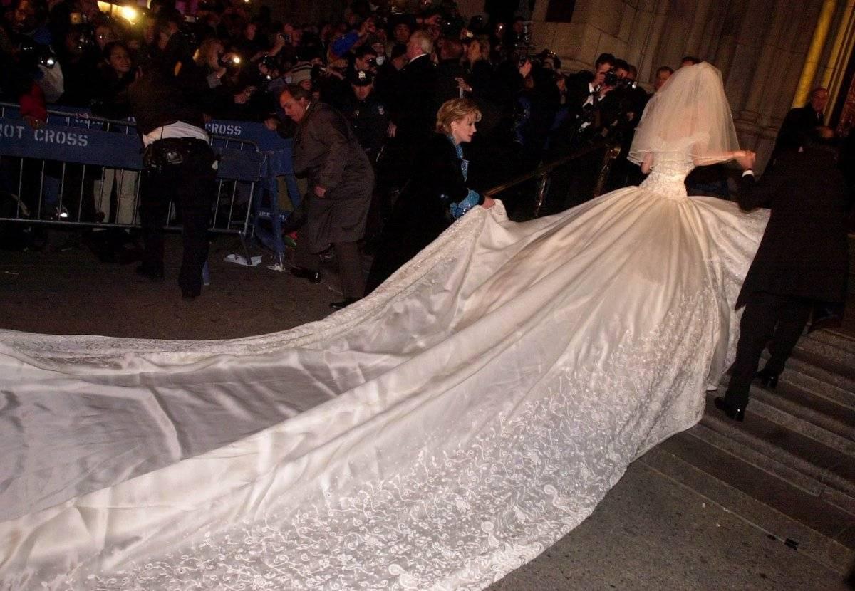 Thalía vestido de novia