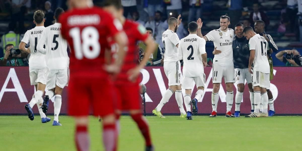 Real Madrid despachó a Kashima Antlers y va por el cuarto Mundial de clubes en cinco años