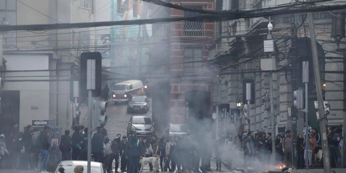 El paro portuario y las protestas siguen hasta que se vote el preacuerdo