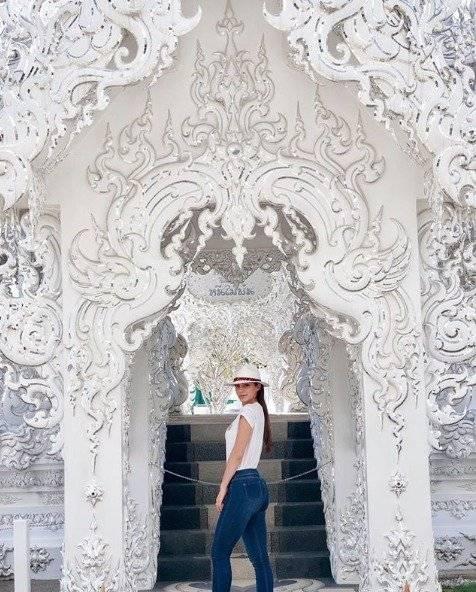 Virginia Limongi y su viaje en Tailandia Instagram