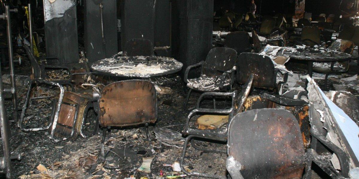 Sentencian a 75 años de prisión a responsable del incendio en el Casino Royale