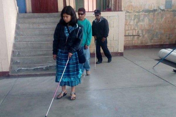 personas con discapacidad visual