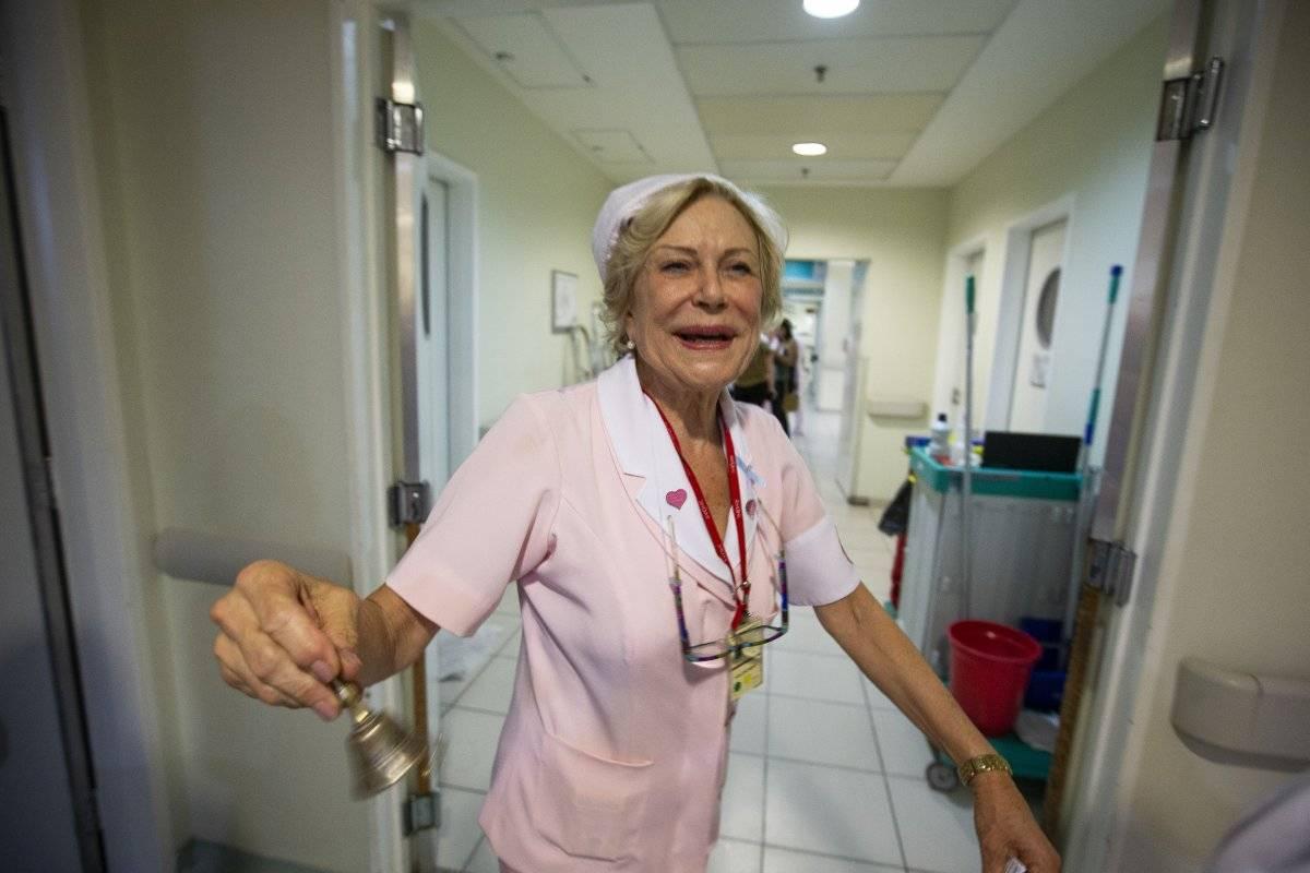 Ema Defiori, voluntária do ICESP André Porto/Metro