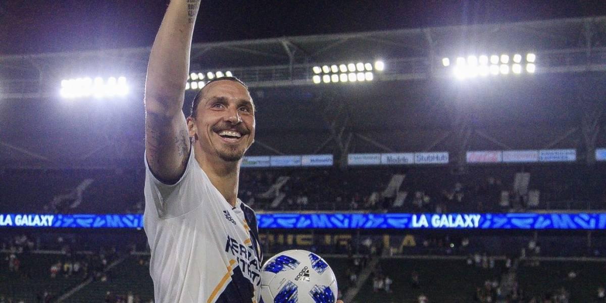Zlatan Ibrahimovic se olvida de Europa y renueva por un año con Los Angeles Galaxy