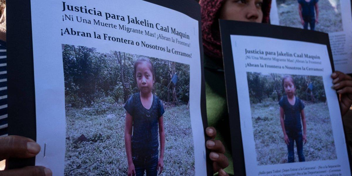 Restos de Jakelin Caal, fallecida en EE. UU., son esperados este domingo