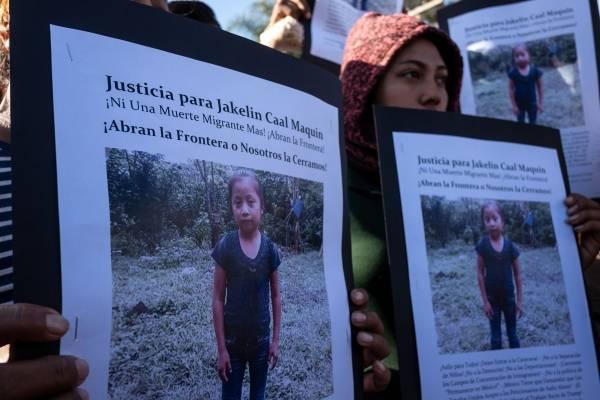 Jakelin Caal, niña migrante guatemalteca fallecida en Estados Unidos