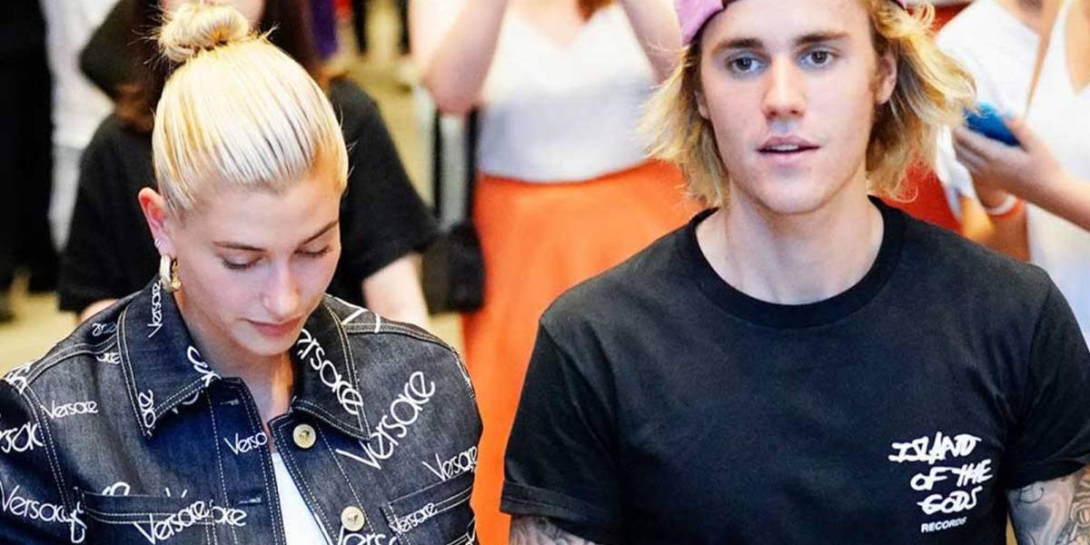 Justin Bieber sufre otra crisis en público y Hailey corre a consolarlo