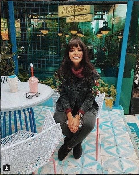 María José Vargas nació el 22 de julio de 2001 Instagram