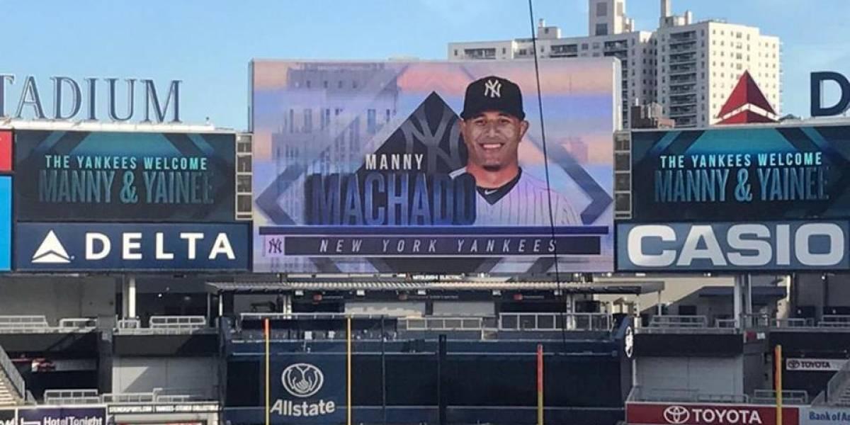 ¿Como encaja Manny Machado en los Yankees?