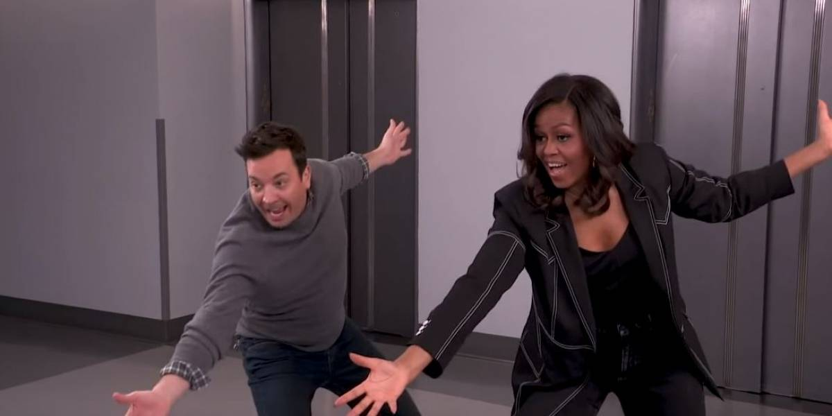 Mira la divertida broma de Michelle Obama a sus seguidores con Jimmy Fallon