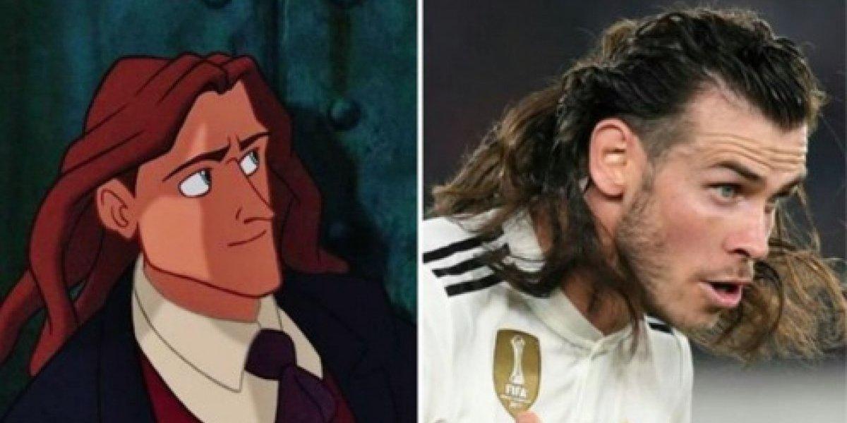 Gareth Bale muestra su cabello suelto y es blanco de los memes