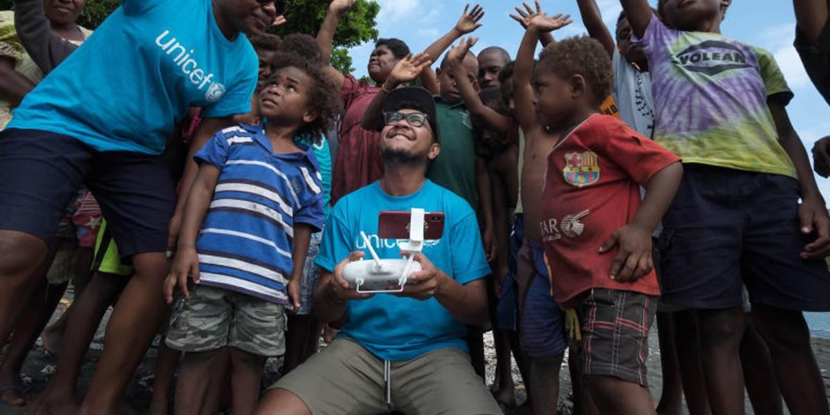 Logro desbloqueado: UNICEF entrega vacunas infantiles con drones por primera vez