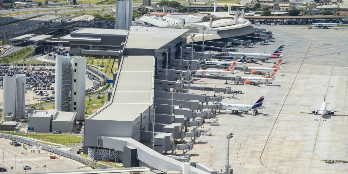 Pouso de emergência interrompe operação do Aeroporto Internacional de Belo Horizonte