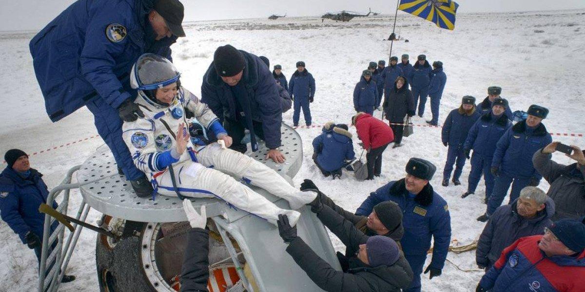 Vuelven 3 astronautas a Tierra desde Estación Espacial