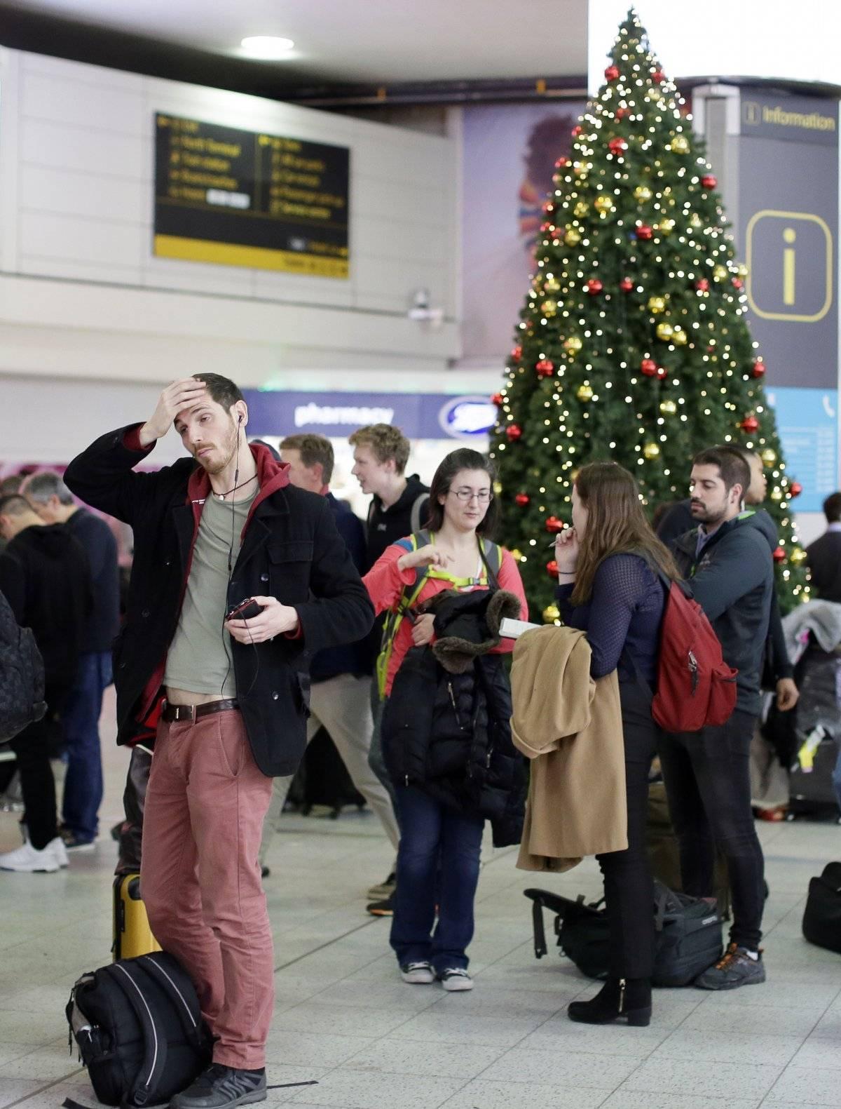 aeropuerto londres Gatwick drones