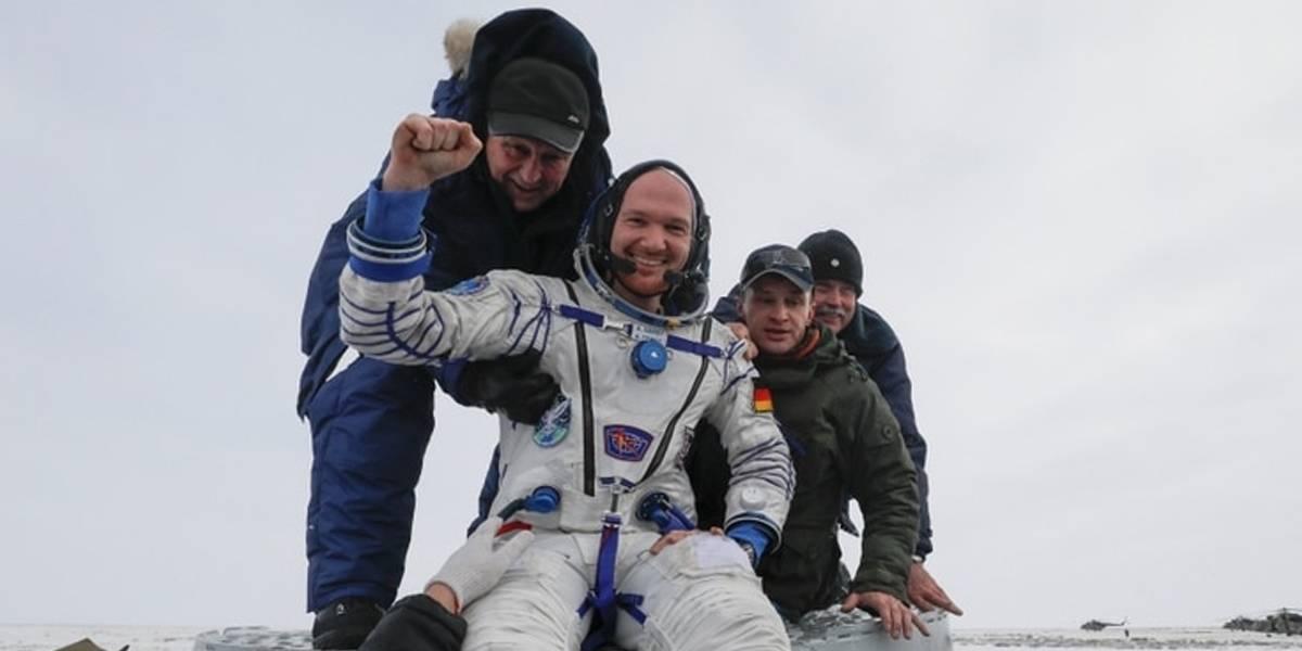 Astronautas regresan a la Tierra tras peligrosa misión desde la Estación Espacial Internacional