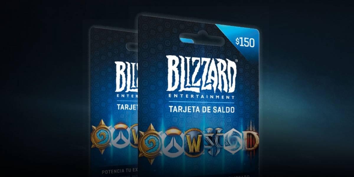 Ya se pueden conseguir en México las tarjetas de saldo de Blizzard