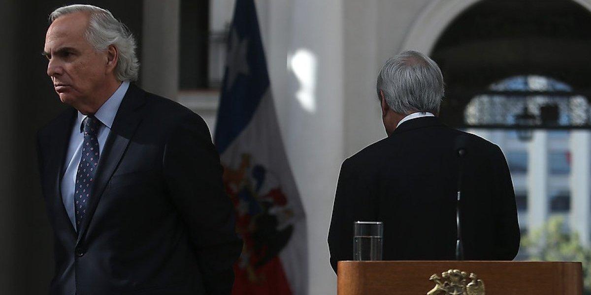 """Ministro del Interior es categórico: """"mi renuncia siempre ha estado en el escritorio del Presidente de la República"""""""