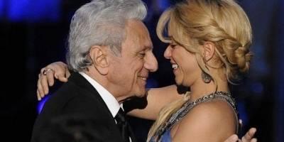 Shakira junto a su padre.