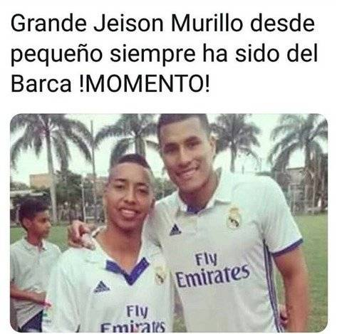 Jeison Murillo del Real Madrid