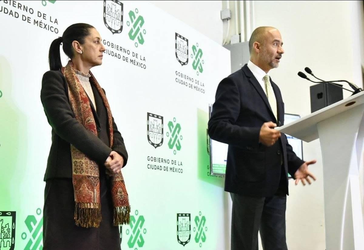 La Jefa de Gobierno y el Secretario de Obras anunciaron el programa. Cortesía.