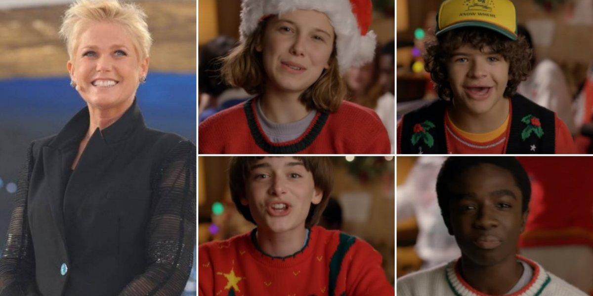 Stranger Things: Vídeo de Natal manda recado e presente especial para Xuxa