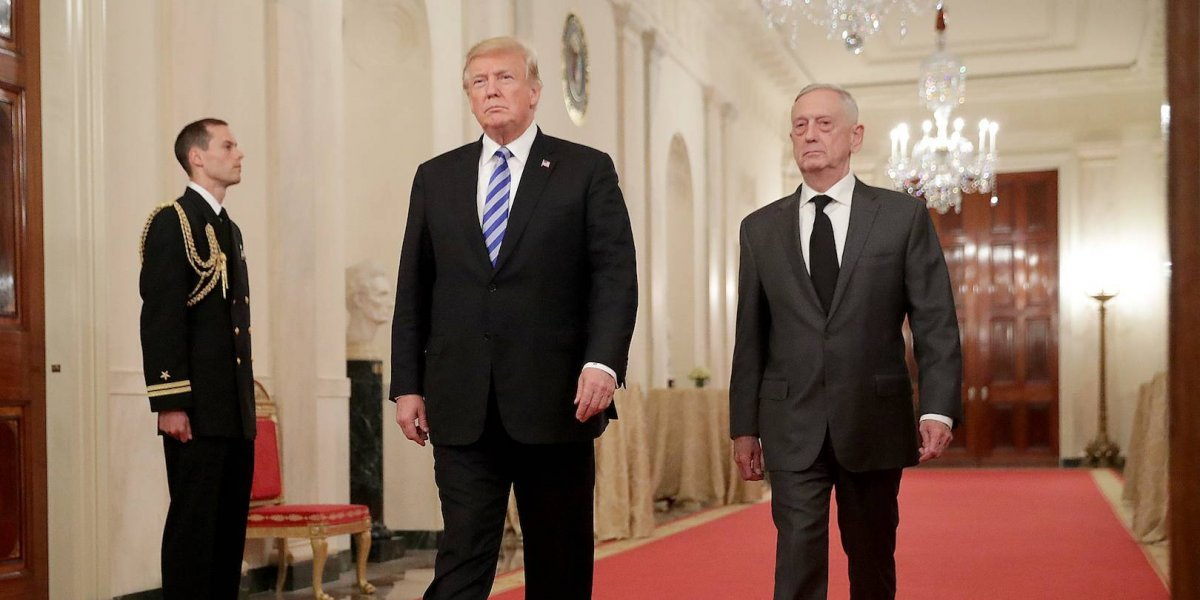 Jim Mattis renuncia al Departamento de Defensa: Trump