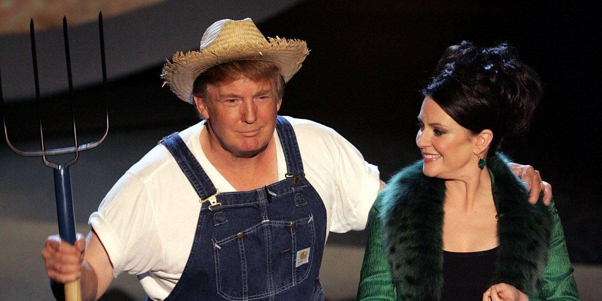 Trump comparte un video cantando para promocionar reforma agraria