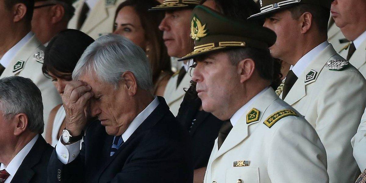 """""""Se necesita un nuevo liderazgo"""": La carta con que Piñera anuncia el decreto para quitar a Hermes Soto de la cabeza de Carabineros"""