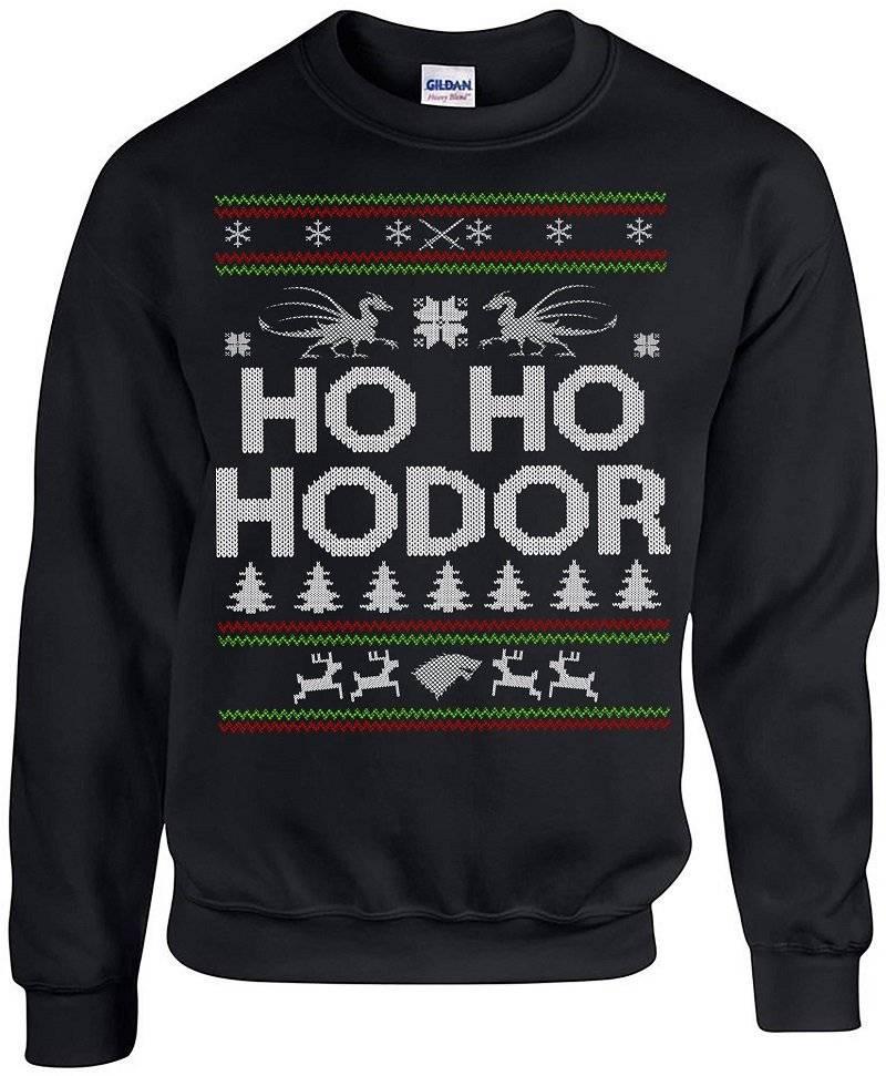 Feo suéter de Navidad de Hodor