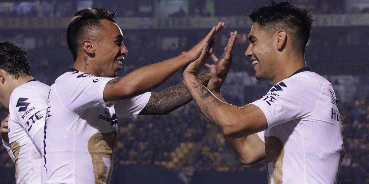 Pumas de Felipe Mora y Martín Rodríguez hizo uso de opción de compra para ambos jugadores