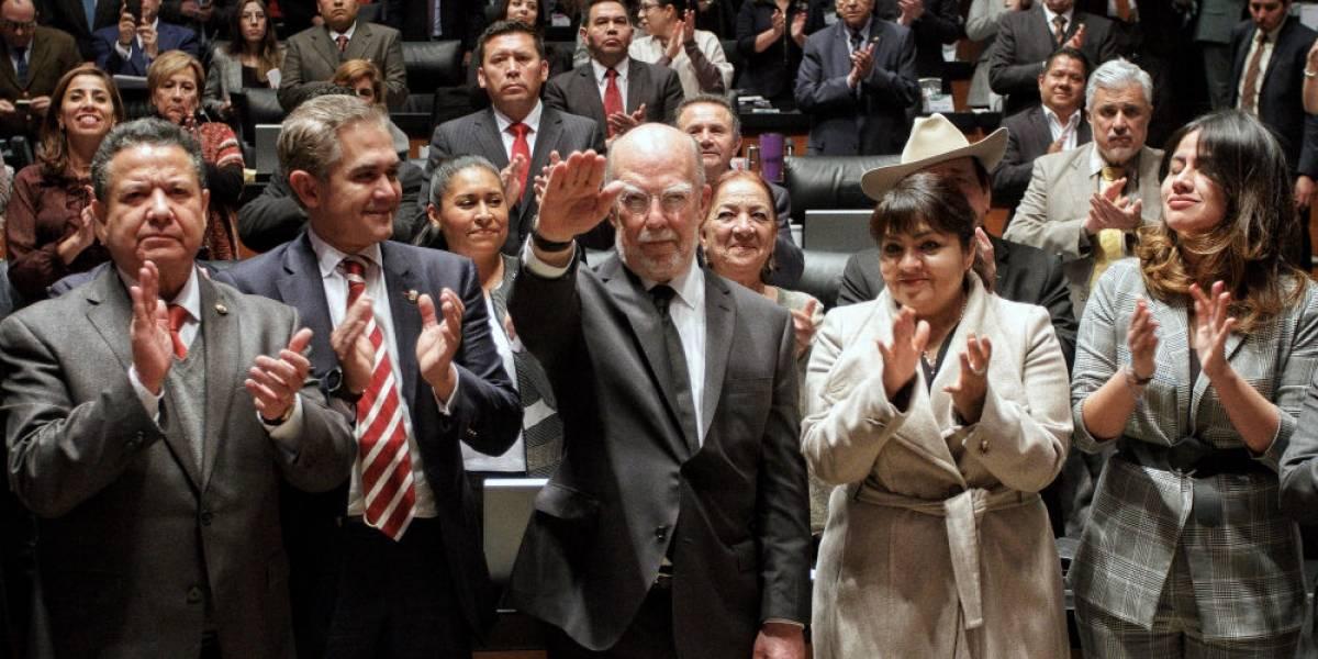 Senado designa a Juan Luis González Alcántara como ministro de la SCJN