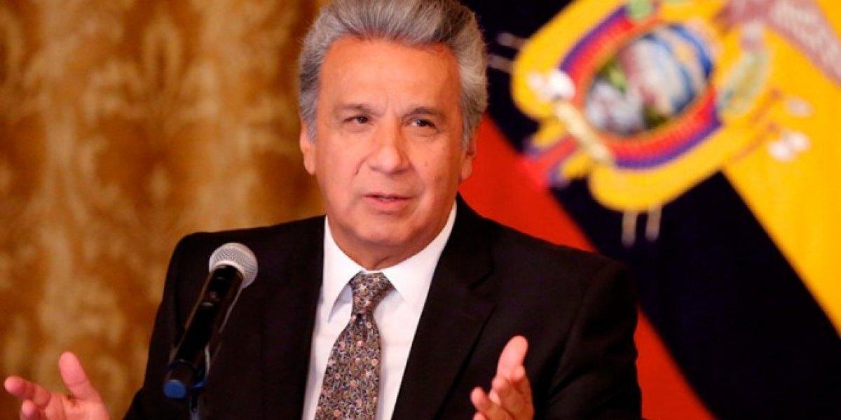 Lenín Moreno hará usó de su derecho legal a vacaciones hasta el 2 de enero del 2019
