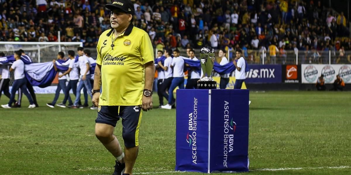 Maradona reaparecerá con Dorados el 5 de enero