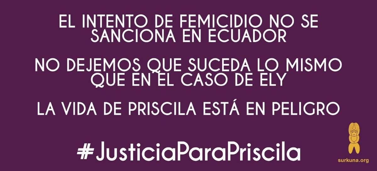 Justicia para Priscila
