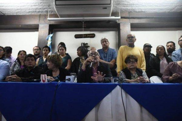 Organizaciones le piden al Ejecutivo que respete fallos de la CC respeto a la CICIG