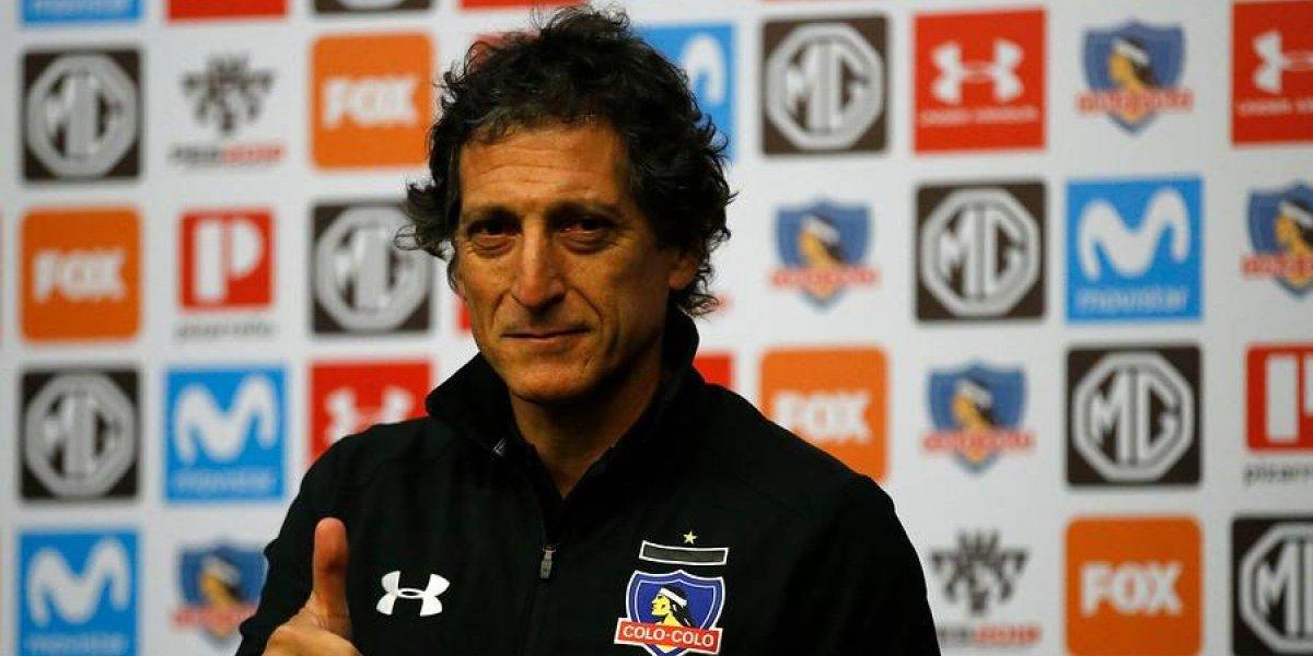 """El día más feliz de Mario Salas: """"Colo Colo tiene que ser un equipo avasallador y dominante"""""""