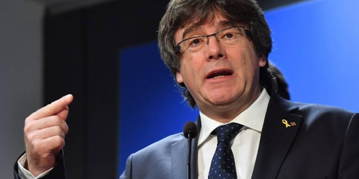 """Ante la ONU, Puigdemont y otros independentistas denuncian la """"suspensión"""" de sus derechos"""