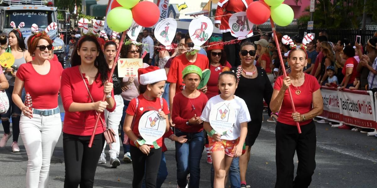 Alegría navideña arropa la calle San Jorge
